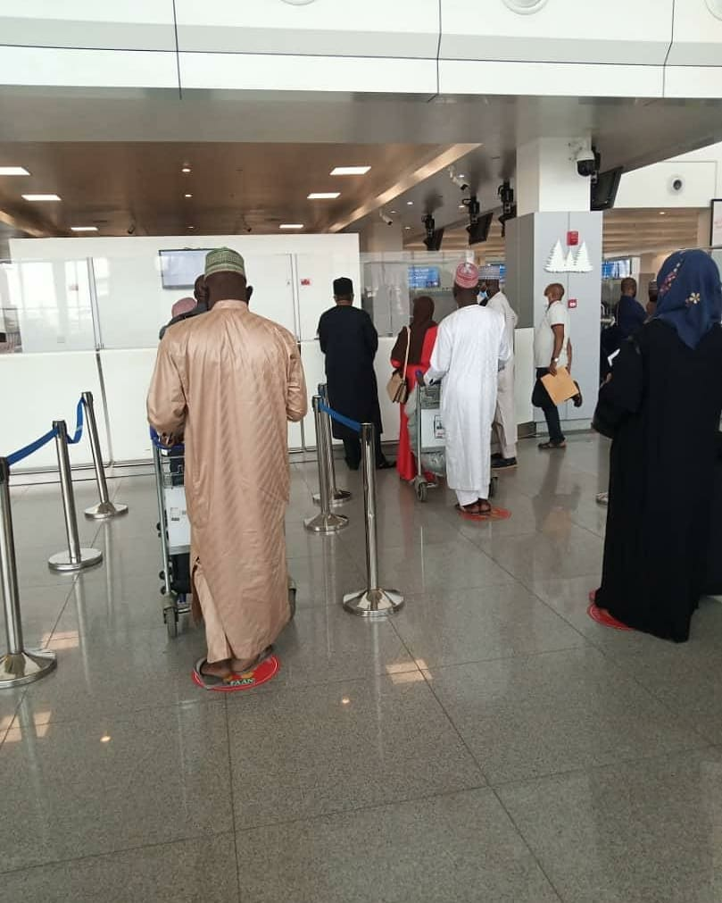 First Batch of Nigerians Depart to Saudi Arabia For Umrah