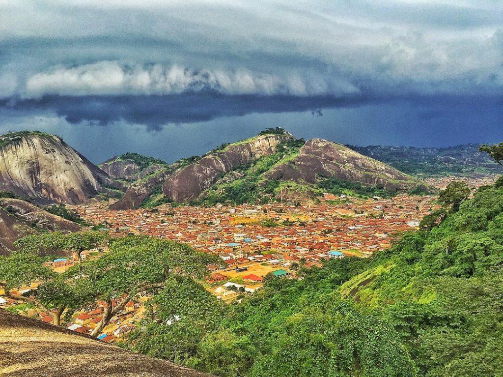 Beauty and the rocks: Idanre Hills